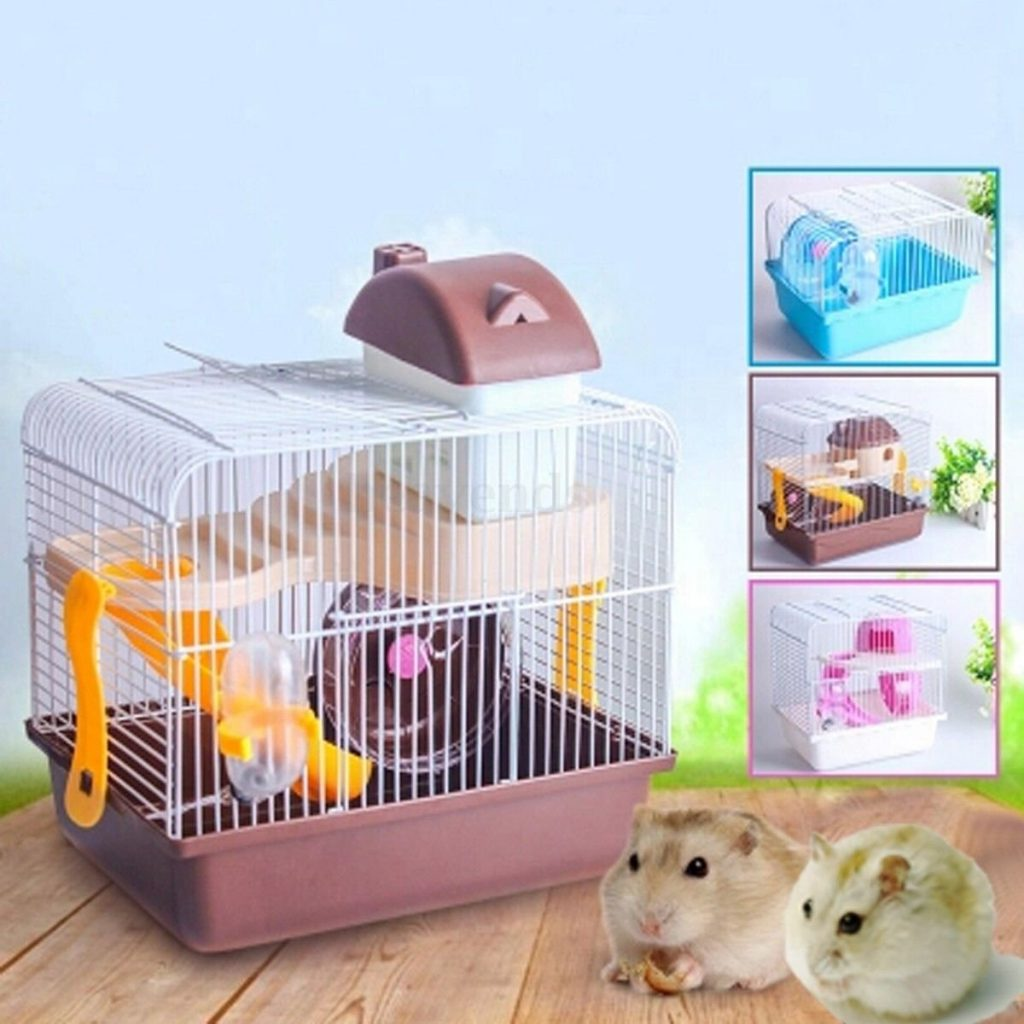 How to use a gerbil cage