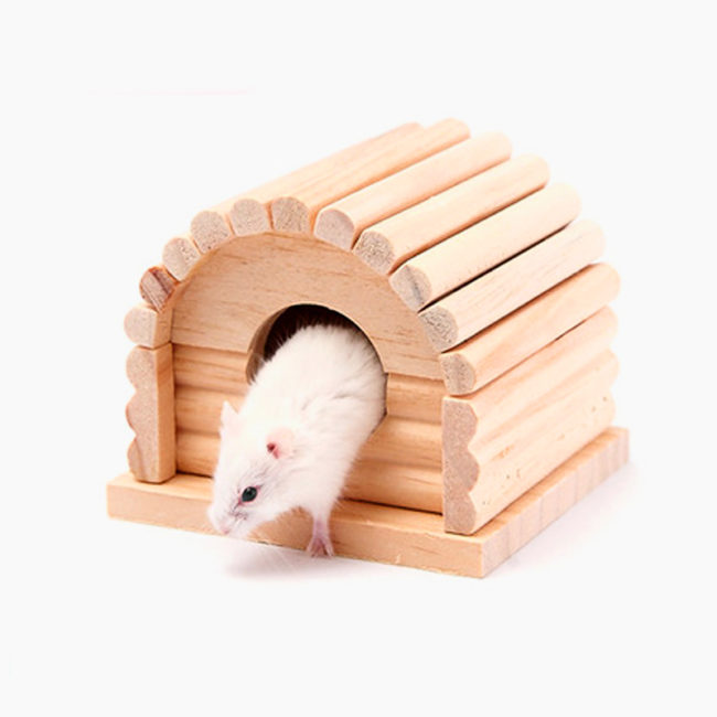 tree house for a hamster