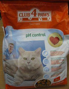 club 4 paws cat foods
