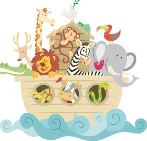 The animals of Noah's ark - My animals